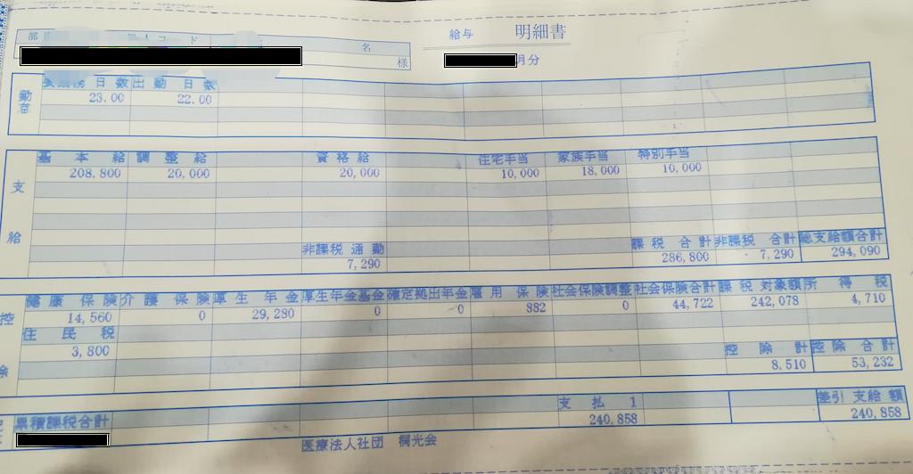 調布病院・看護師の給与明細【ガチ画像】・給料・評判・口コミ・ボーナス・年収
