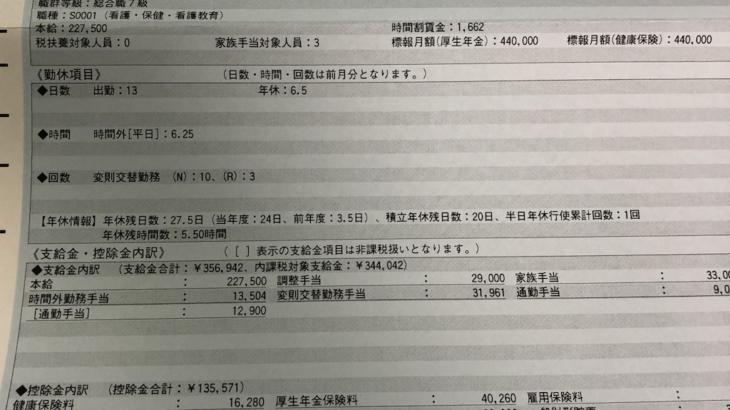 日立総合病院・看護師の給与明細【ガチ画像】・給料・評判・口コミ・ボーナス・年収